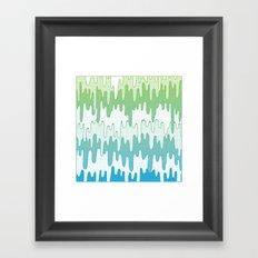 Trippy Drippys Framed Art Print