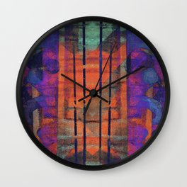 an elaborate burn Wall Clock