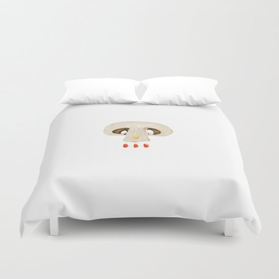 MOUTHFUL SKULL Duvet Cover