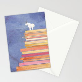 Goat on a Cliff Stationery Cards