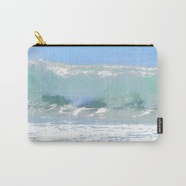 Pastel Wave Carry-All Pouch