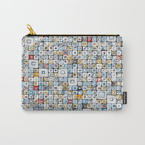 Grid#01 Carry-All Pouch