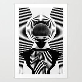 Dark Homonyms XI Art Print