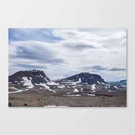 Icelandic Moonscapes - Two Canvas Print