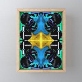 十 (Shí) Framed Mini Art Print