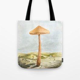 Mushland - Watercolors Tote Bag