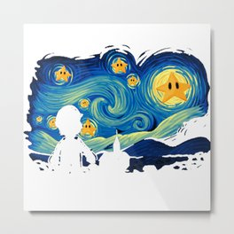 Super Starry night Metal Print