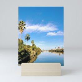 Lady Bird Lake Palms Mini Art Print