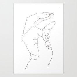 Blind IV Art Print