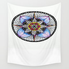 Watercolour Peddles Wall Tapestry