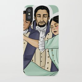 Laurens+Hamilton+Eliza iPhone Case