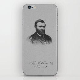 General Ulysses S. Grant And His Signature iPhone Skin