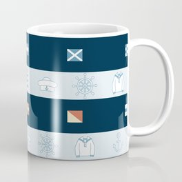 Nautical Theme Design Coffee Mug