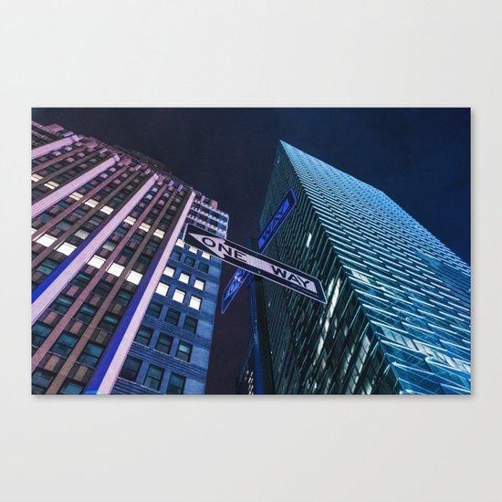 One Way NYC Canvas Print