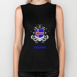 Iceland Uefa Euro 2016 Biker Tank