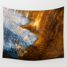 Abstract Acrylic Blizzard Wall Tapestry