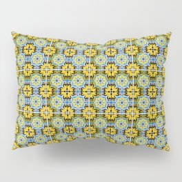 Azulejo Portugues 6 Pillow Sham