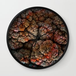 Cosmic Cauliflower Wall Clock