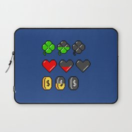 Video Game Stats Laptop Sleeve