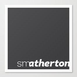 smatherton logo Canvas Print