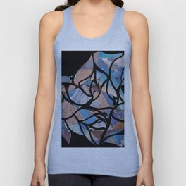 Untitled Paper Cut-Out (Digitally Altered) Unisex Tank Top
