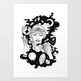 Tasseography Art Print