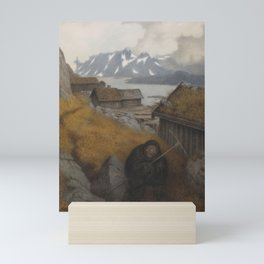 She Covers the Whole Country Theodor Kittelsen Mini Art Print