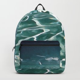 Sailing Ocean Blues Backpack