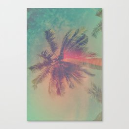NEON SUMMER Canvas Print