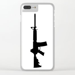 AR-15 Clear iPhone Case