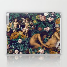 Young Greeks and Floral Pattern Laptop & iPad Skin