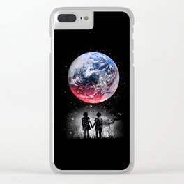 Beautiful Earth Clear iPhone Case