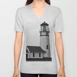Cape Blanco Lighthouse Unisex V-Neck