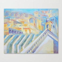 Assisi the city of peace by Diana Grigoryeva Canvas Print