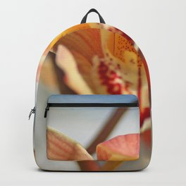 orchid flower ready to fly Backpack