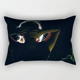 Behind the Scenes Rectangular Pillow