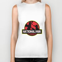 the national Biker Tanks featuring National Park by EnoLa