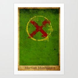 Martian Logo Art Print