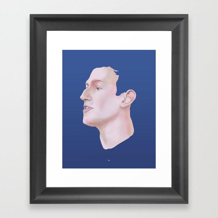 Zuckerberg Framed Art Print