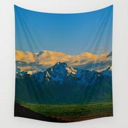 Pioneer Peak - Mat-Su Valley Wall Tapestry