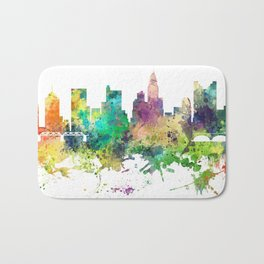 Columbus, Ohio skyline SP Bath Mat