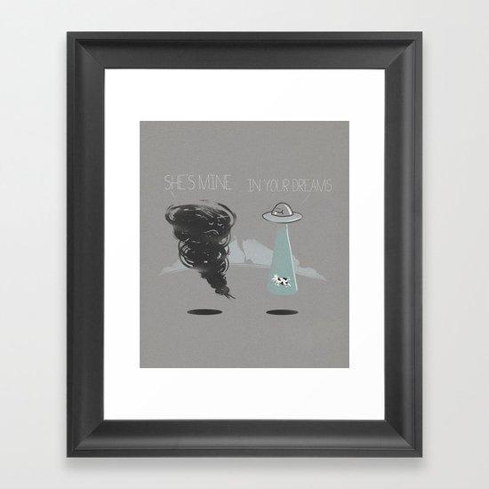 She's mine Framed Art Print