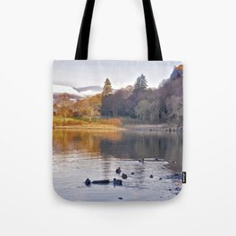 By the Lakeside - Derwent Water Tote Bag