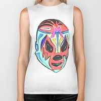 mexico Biker Tanks featuring MEXICO by MANDIATO ART & T-SHIRTS