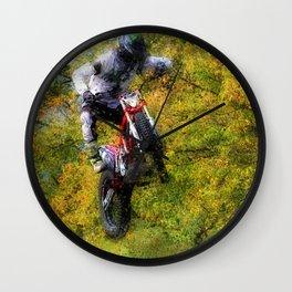 Extreme Biker - Dirt Bike Rider Wall Clock