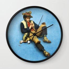 The Piper of Hamelin Wall Clock