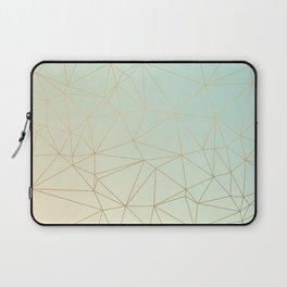 Pastel Geometric Minimalist Pattern Laptop Sleeve