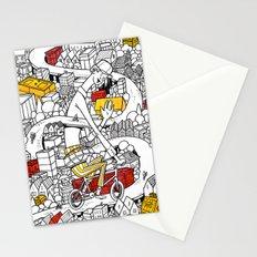 City Biking Stationery Cards