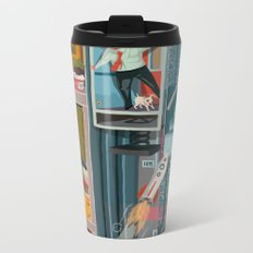 Greetings from Hungary (left side) Metal Travel Mug