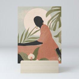 Tropical Girl 21 Mini Art Print